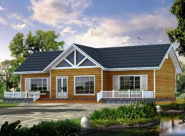 木屋 木结构别墅设计案例效果图