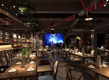 米氏音乐红酒餐厅-武汉主题餐厅设计|武汉餐厅装修公司|武汉连锁餐厅