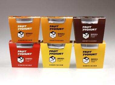 初见酸奶包装设计案例