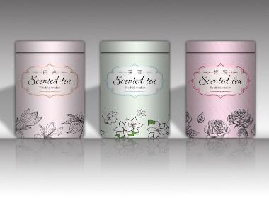 茶叶 花茶 包装制作