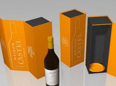 卡思黛尔酒盒包装设计