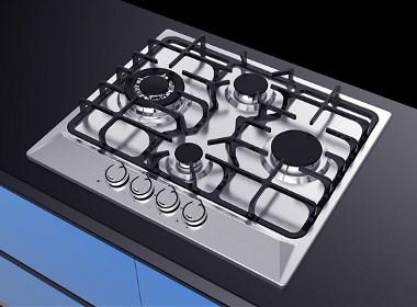 多头灶具,你的省事烹调好帮手,德腾工业设计