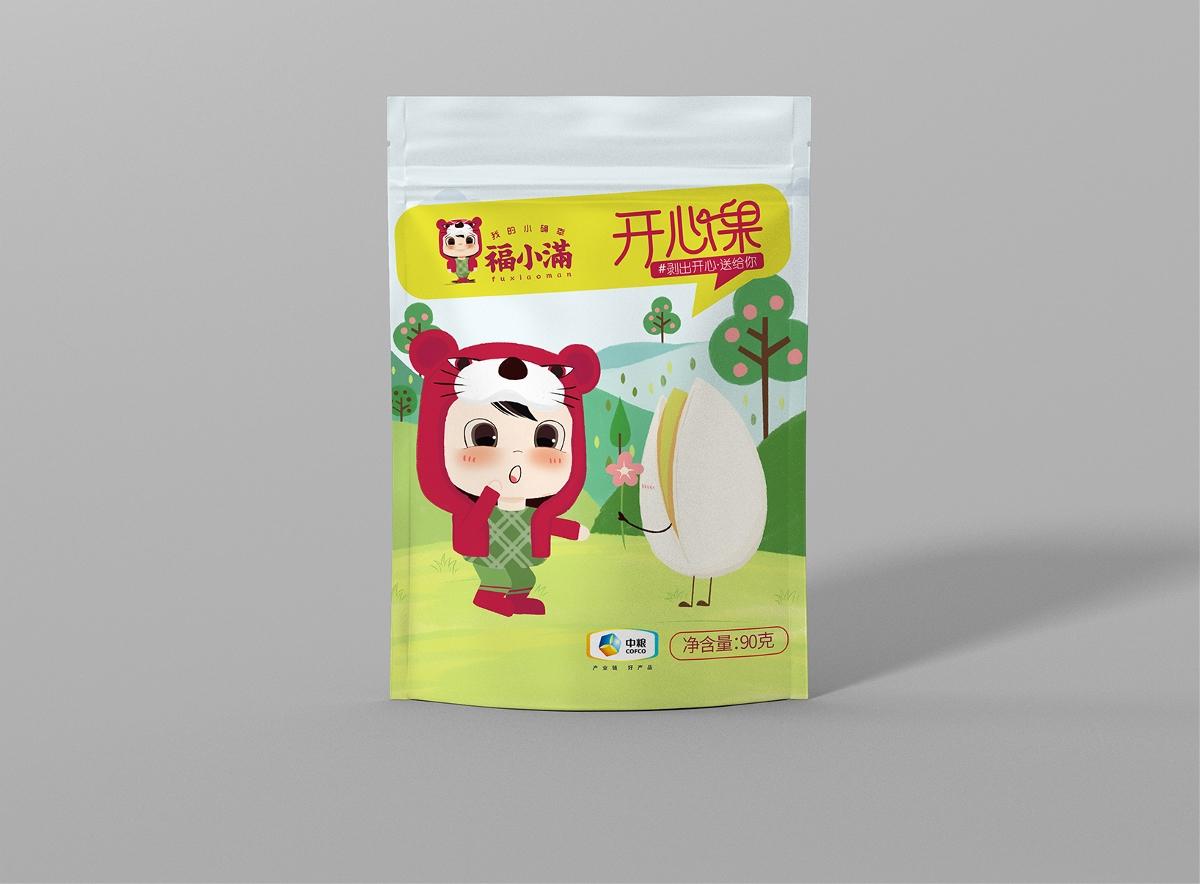 中粮集团干果包装开心果包装果脯包装[缘包装©]