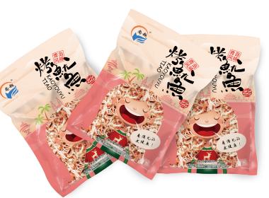 海鲜小零食包装设计