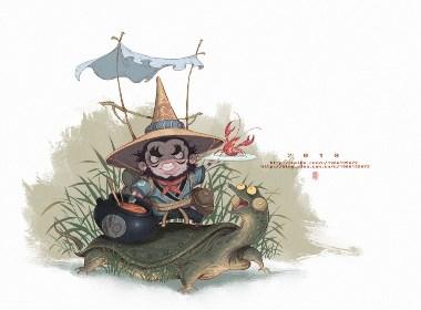WMM的江湖插画欣赏