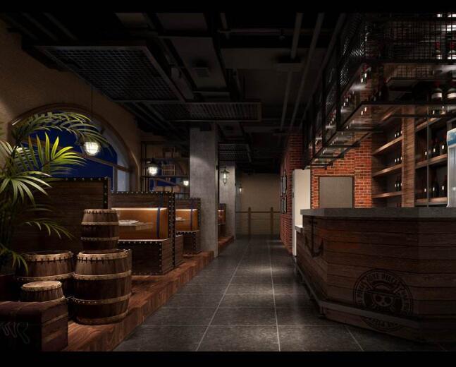 成都干锅店设计丨成都干锅店设计公司丨成都干锅店装修设计
