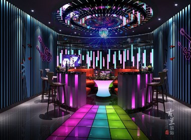乐潮食代音乐主题餐厅设计