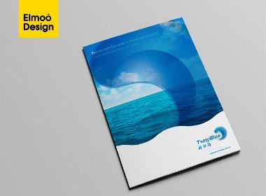 拓米蓝品牌形象标志LOGO设计