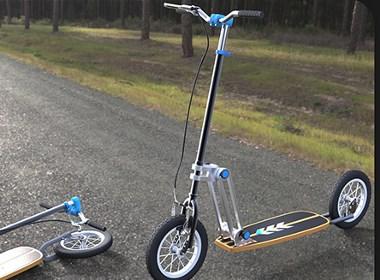 可折叠的滑板车