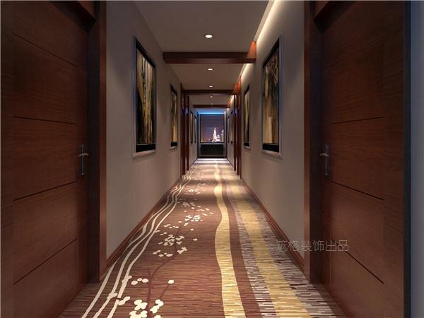 四川马尔康商务酒店装修设计效果图赏析|筑格装饰出品