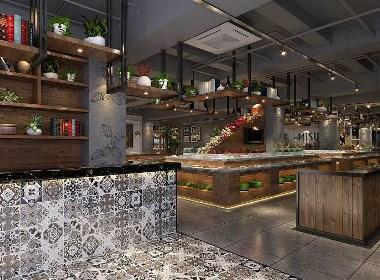 成都自助餐廳裝飾公司/成都自助餐廳裝修/成都自助餐廳設計公司
