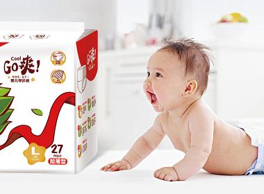 成长冠军_纸尿裤包装设计_卫生用品包装设计——泉州恩加品牌策划包装设计案例