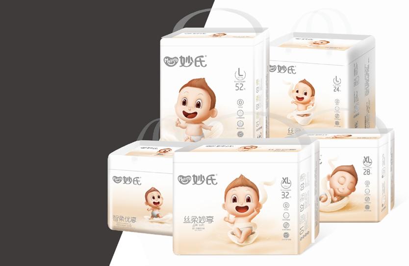 妙氏_纸尿裤包装设计_卫生用品包装设计——泉州恩加品牌策划有限公司包装设计案例