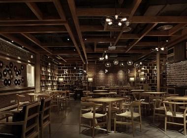 【中式咖啡厅】—武汉咖啡厅装修/武汉咖啡厅装修公司