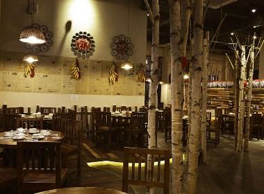 成都中餐厅设计/成都中餐厅装修公司/成都中餐厅装修设计