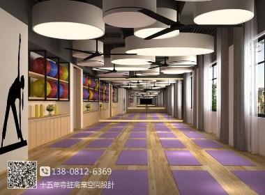 梵谷瑜伽馆-成都专业瑜伽馆设计|成都瑜伽馆装修|成都瑜伽馆设计公司|原创作品