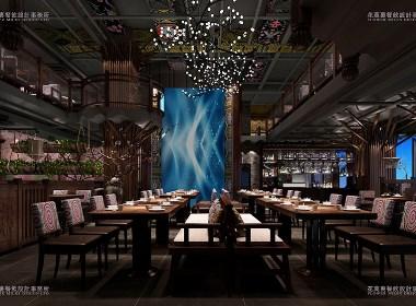 佛山 619湘聲馆餐厅  古朴与时尚共生 |花万里设计