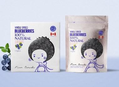 蓝莓干包装(已商用)