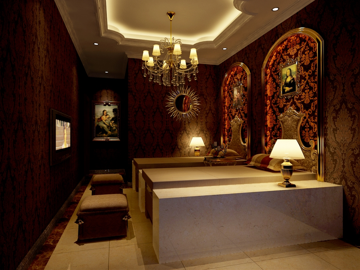 银川足浴会所丨德阳足浴中心设计丨足疗店装修
