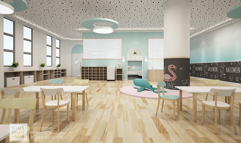 北京师范大学丨兴平实验幼儿园·室内设计