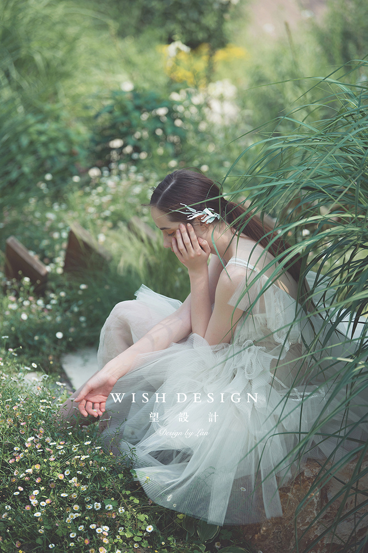 花境中的仙女,遇见兰奕仙裙—服装设计