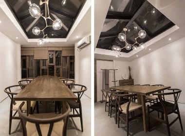 桂林时尚现代料理店——成都料理店空间设计案例效果