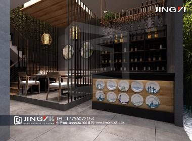 景逸效果图设计——工装餐厅