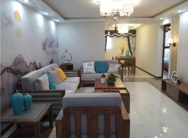 两室两厅现代中式风格