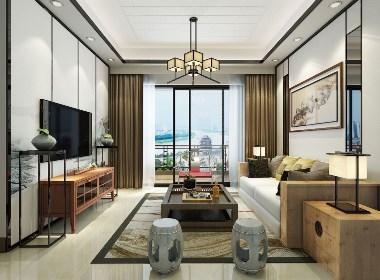 新中式案例欣赏|成都二手房改造|城南装饰公司|环球装饰公司|川豪装饰