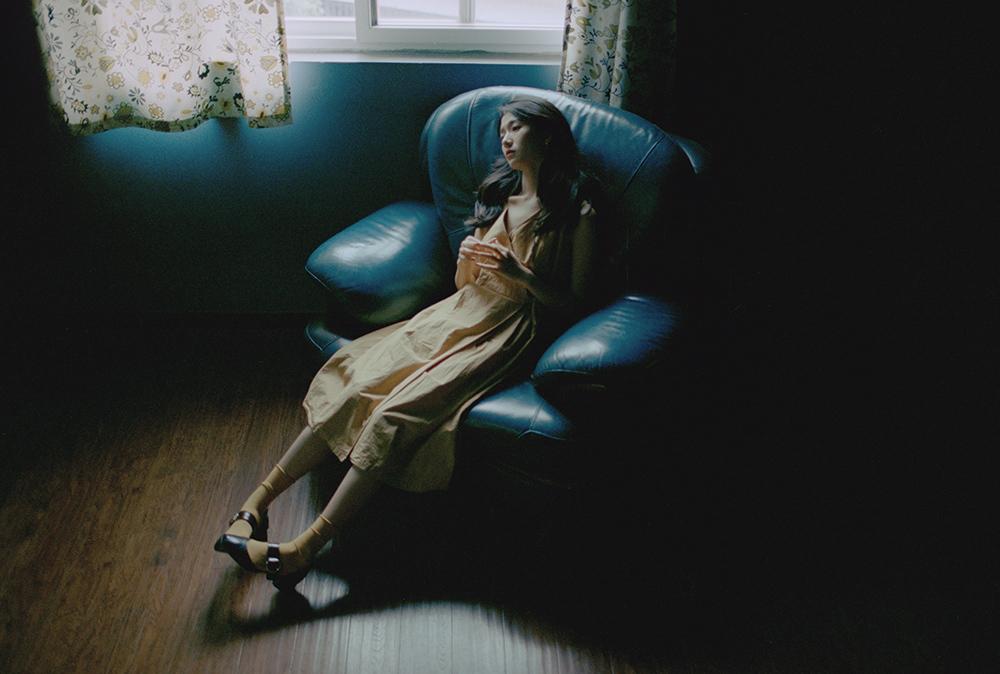 安静的沉浸—人像摄影