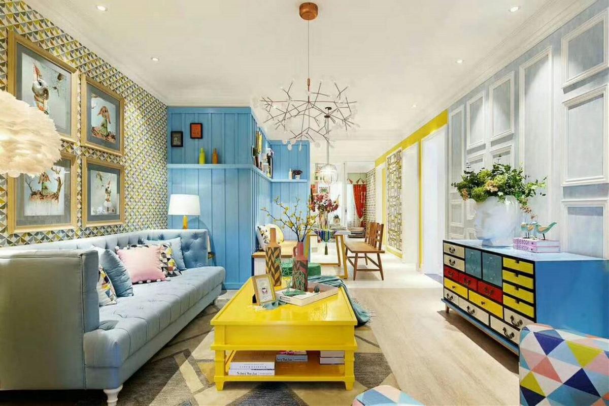 现代混搭五彩缤纷世界——室内设计