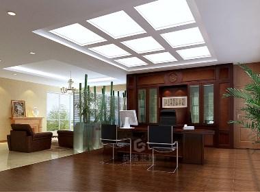 成都办公室装修设计效果图赏析|筑格装饰