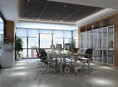 艾美办公室也丨成都办公室丨写字楼设计装修丨筑格装饰