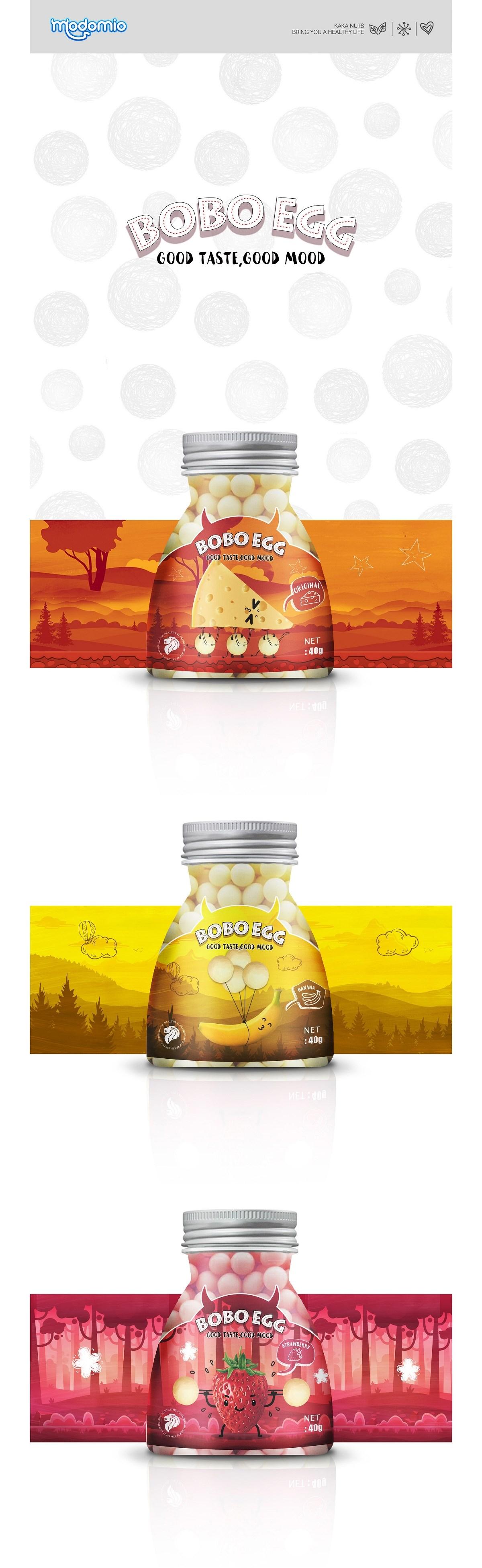 食品包装 - 新加坡鸡蛋仔 - BOBO EGG
