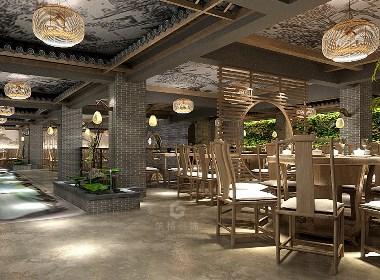 1+1酒楼丨成都餐厅设计丨酒楼设计装修丨筑格装饰