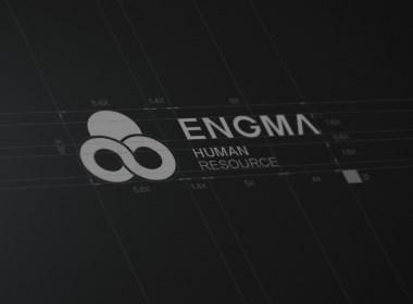 ENGMA人力资源logo设计