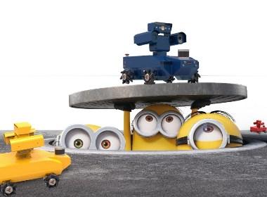 电力巡检机器人 - 平价钣金折弯小型化四驱设计