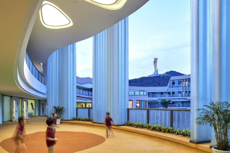 启智幼儿园——成都幼儿园装修设计公司案例赏析|古兰装饰作品