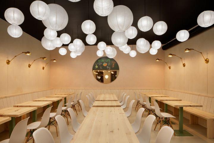 素三鲜素食餐厅-成都素食餐厅设计|成都素食餐厅装修公司
