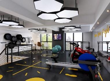大邑逸格健身工作室设计,成都健身工作室设计公司,成都专业健身工作室装修公司