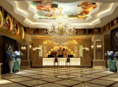 铂金汉宫会所丨成都洗浴中心丨足疗中心设计装修-筑格装饰