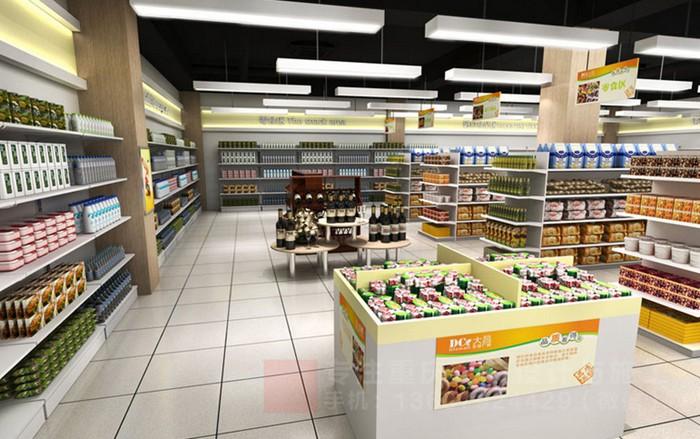 重慶小超市裝修設計百貨商店效果圖「重慶觀景裝飾」