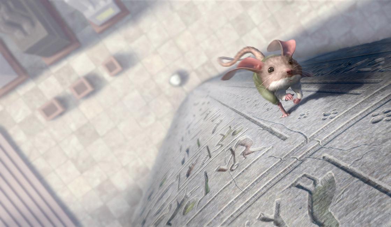 奇鼠历险记—插画欣赏