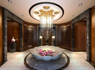 沐欣源洗浴中心——昆明洗浴会所装修设计公司|古兰装饰