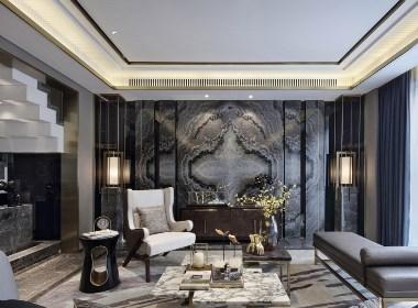 休闲中式风格案例-室内装饰