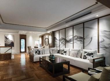 宁静淡泊中式风格-室内设计