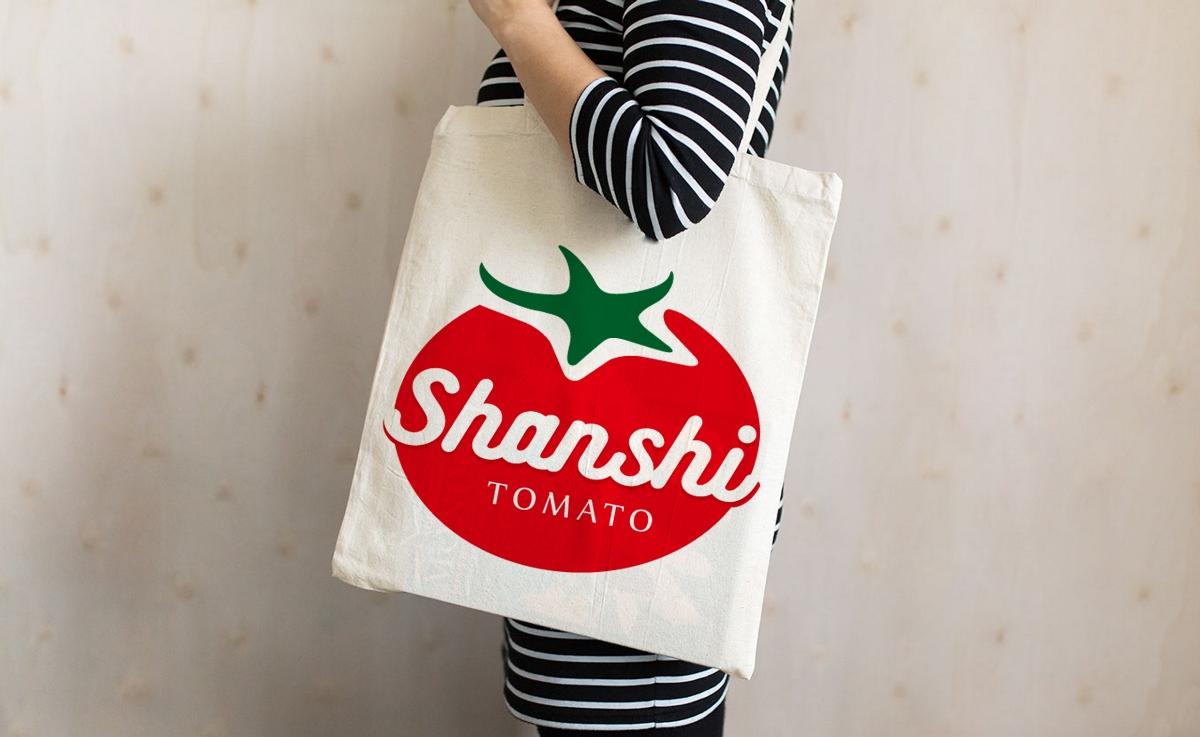农产品品牌VI设计 农产品包装设计 西红柿品牌设计 善柿品牌设计