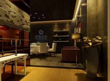 四川酒楼装修设计效果图赏析|筑格装饰出品
