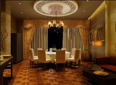 丰禾银座酒楼丨成都餐饮设计丨餐厅设计丨筑格装饰