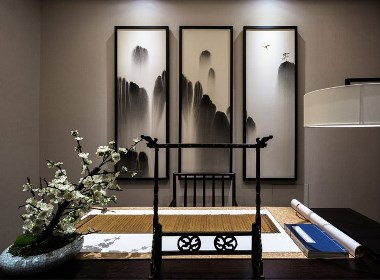 山水画墨-新中式风格案例
